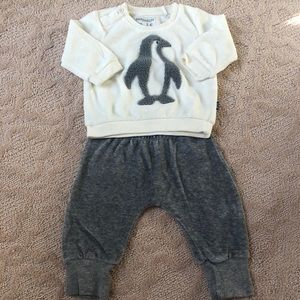 Baby boy penguin outfit 3-6 Months